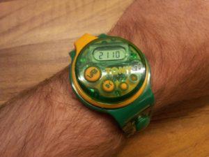 An annoying watch.