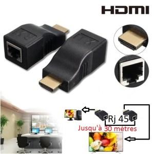 Extendeur HDMI avec RJ45
