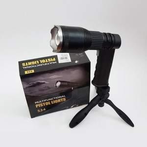 Lampe Torche pistolet 100 m + PowerBank 4000mAh