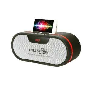 Haut-parleur Bluetooth avec support pour tablettes et smartphones Wster WS 1836