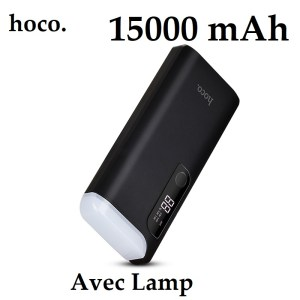 Power Bank HOCO B27 15000mAh lampe de table