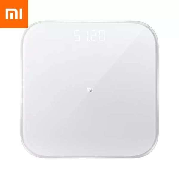 Original Xiaomi Mi scale 2 Maison Intelligente Mi Fit Intelligent Application Android, Bluetooth 5.0, affichage numérique Led, fonctionne avec l'application Mi fit pour le Fitness à domicile