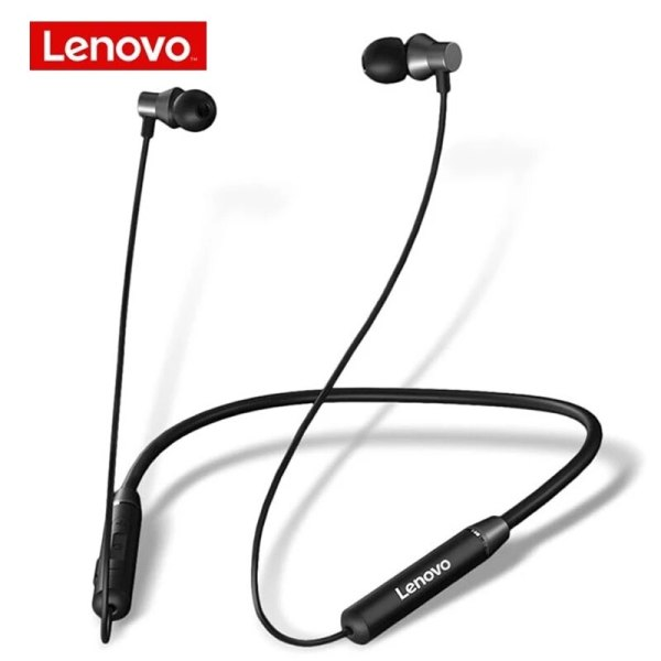 Lenovo – écouteurs sans fil Bluetooth stéréo, oreillettes de Sport étanches IPX5, réduction du bruit, casque de course magnétique