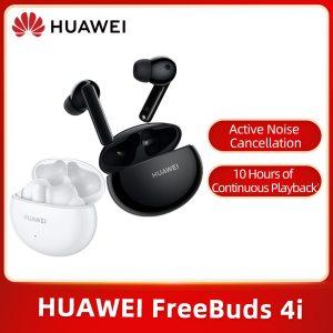 Huawei FreeBuds 4i écouteurs Bluetooth, Noise cancellation, 10 heurs de charge