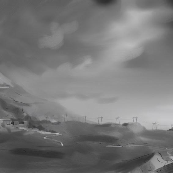 Hydro power sketch