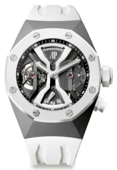 Audemars Piguet Concept GMT Tourbillon in White Ceramic