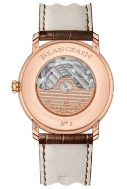 Blancpain Villeret Grande Date référence 6669-3642-55B - Baselworld 2015