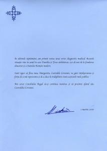 Mesaj Regele Mihai I 1 martie 2016