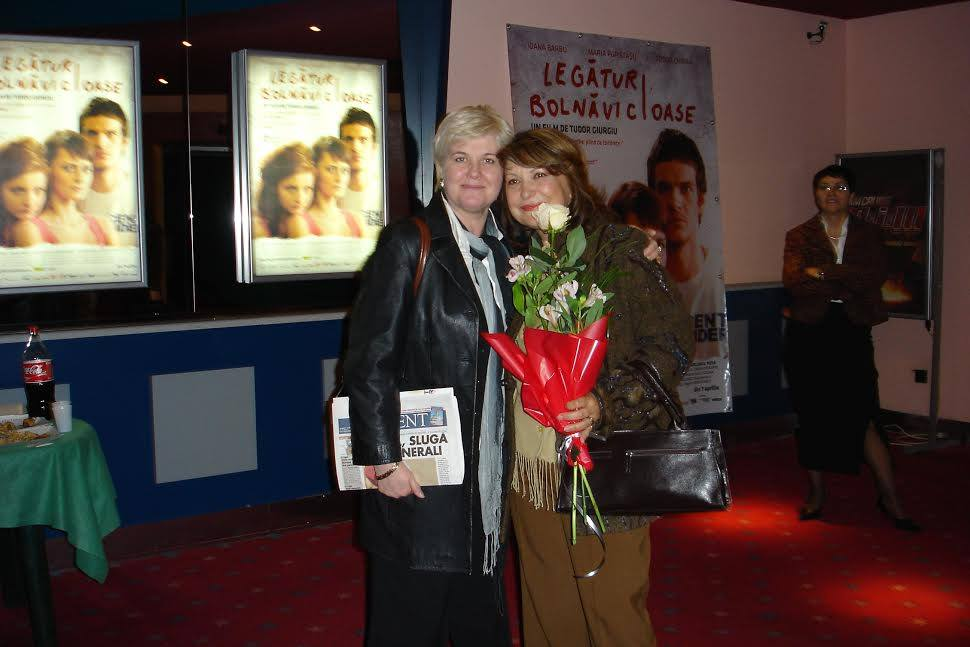 Ileana Pernes Danalache cu Tora Vasilescu