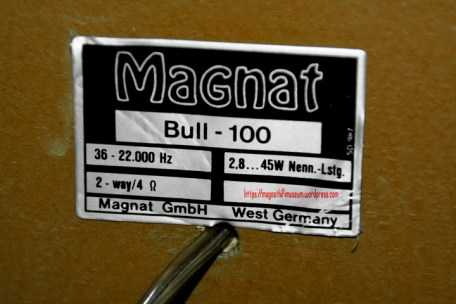 Magnat Bull 100 type