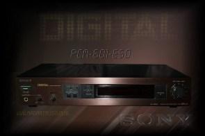sony pcm 601