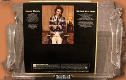 Johnny Mathis - Me and Mrs. Jones back SQ LP