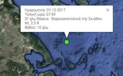 . Σποράδες σεισμός