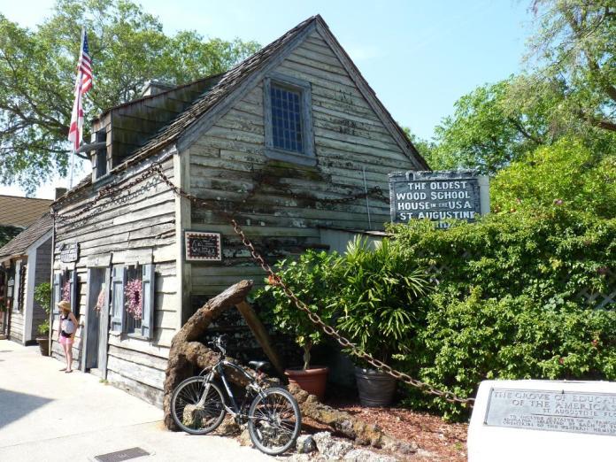 Oldest Wooden Schoolhouse