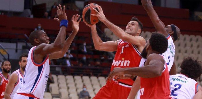 Δεύτερη εντός έδρας ήττα για Ολυμπιακό στην Ευρωλίγκα παρόντος Αντετοκούνμπο