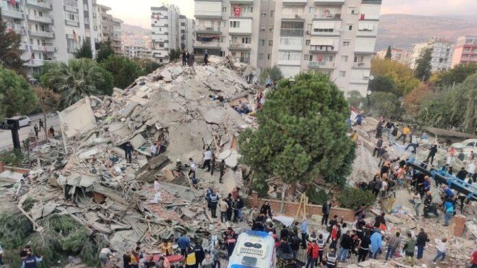 Τουρκία: Τουλάχιστον 12 νεκροί από τον σεισμό και 607 τραυματίες