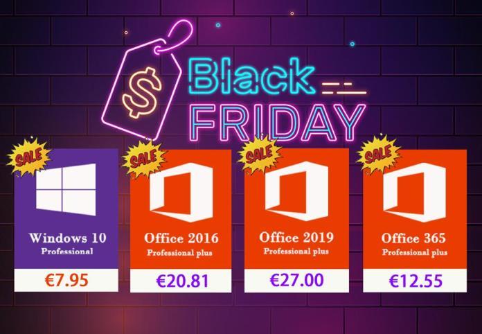 Black Friday σε δημοφιλές λογισμικό Windows και Office Pro