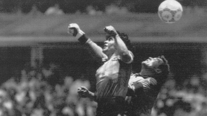 Ντιέγκο Μαραντόνα: «Χέρι του θεού» – Το ιστορικό γκολ απέναντι στην Αγγλία