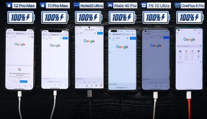 IPhone 12 Pro Max: Τα βάζει με τα μεγαθήρια του Android στο απόλυτο Battery Test [βίντεο]