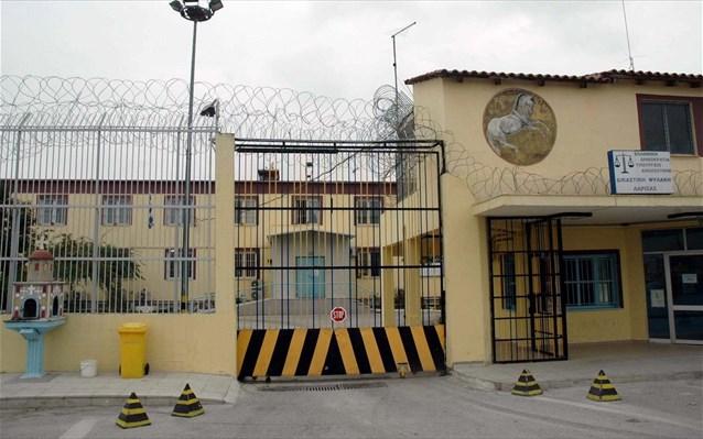 Στα 155 αυξήθηκαν τα κρούσματα Covid 19 στις φυλακές Λάρισας
