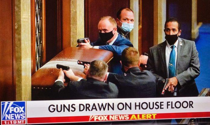 Guns On House Floor