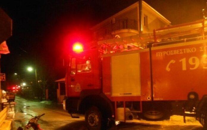 Φωτιά σε καμινάδα σπιτιού στη Νέα Ιωνία