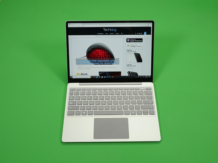 Microsoft Surface Laptop Go review Techblog