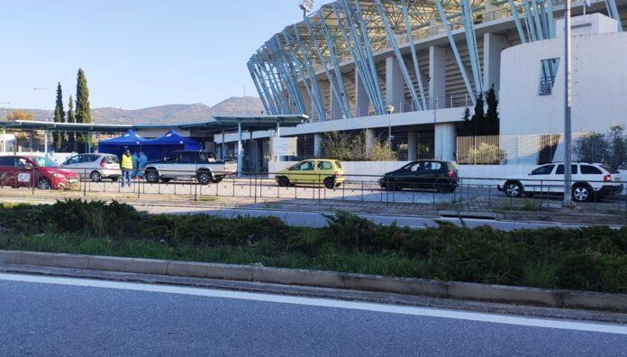 Rapid Test από το αυτοκίνητο αύριο στο Πανθεσσαλικό