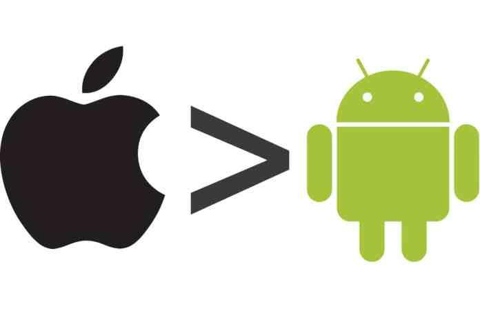 Το Android στέλνει πολλά περισσότερα δεδομένα σε σχέση με το IOS