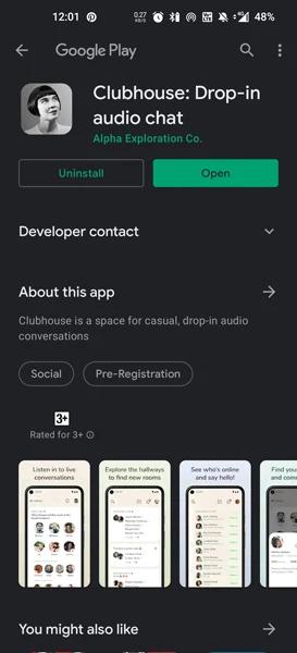 Διαθέσιμο γίνεται πλέον το Clubhouse APK για το Android