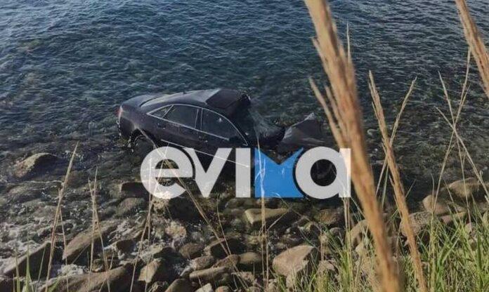 Αυτοκίνητο κατέληξε στη θάλασσα