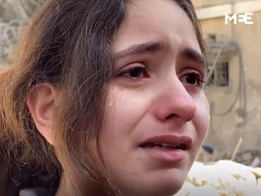 «Είμαι απλώς ένα παιδί» – Το ξέσπασμα 10χρονης από τη Γάζα που αποτυπώνει τη βιαιότητα του πολέμου