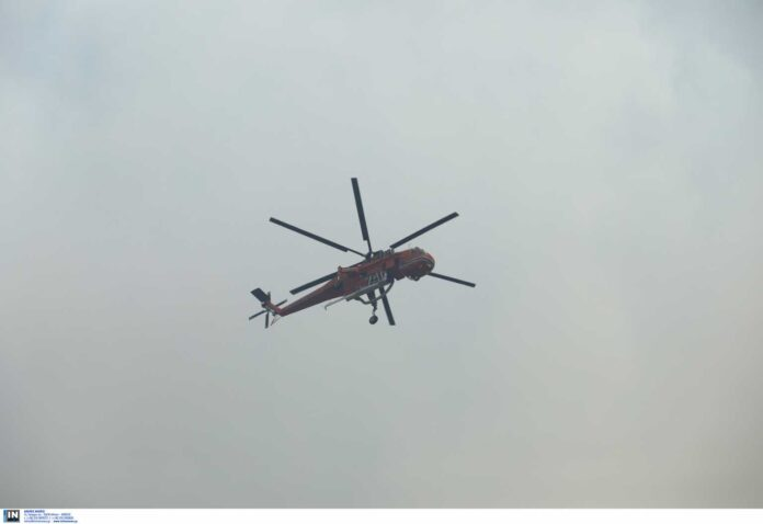 Φωτιά στα Γεράνεια Όρη: Μαίνεται η μεγάλη πυρκαγιά – Ο στόχος για τη νύχτα που έρχεται