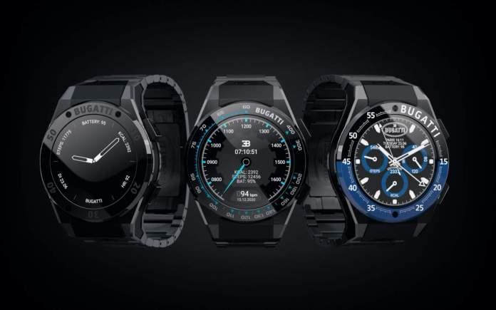 H Bugatti παρουσιάζει το δικό της Smartwatch, με δικό της λειτουργικό