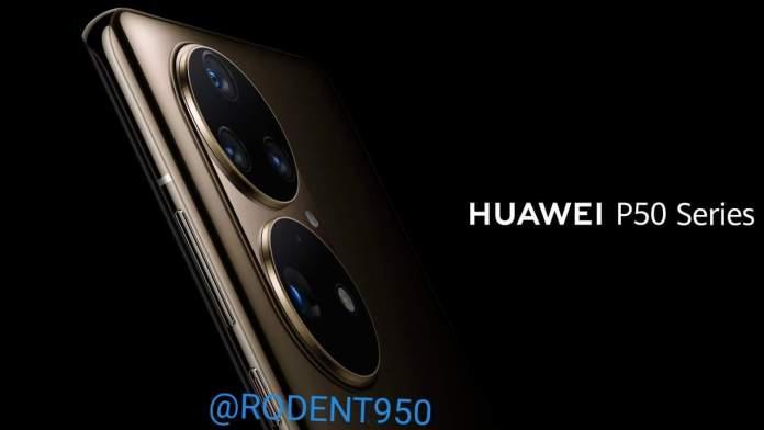 Huawei P50: Νέα Renders δείχνουν την κάμερα