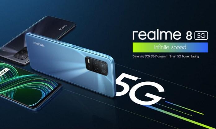 Realme 8 5G: Αναμένεται σύντομα στην ελληνική αγορά