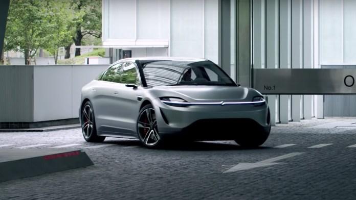 Sony Vision S: Ένα πανέμορφο ηλεκτρικό Concept αυτοκίνητο