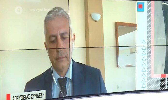 «Έσπασε» ο πρόεδρος των αστυνομικών στον «αέρα» εκπομπής