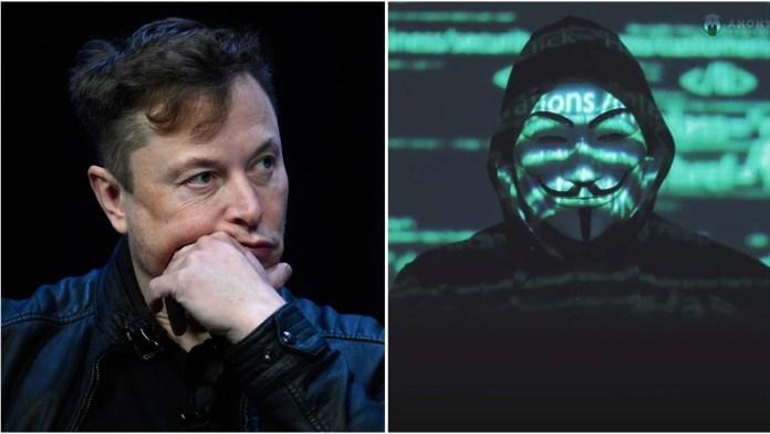 Επίθεση των Anonymous σε Tesla και Elon Musk [video]