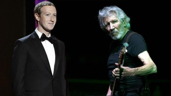 Facebook: Τρώει τεράστιο άκυρο από τον Roger Waters των Pink Floyd