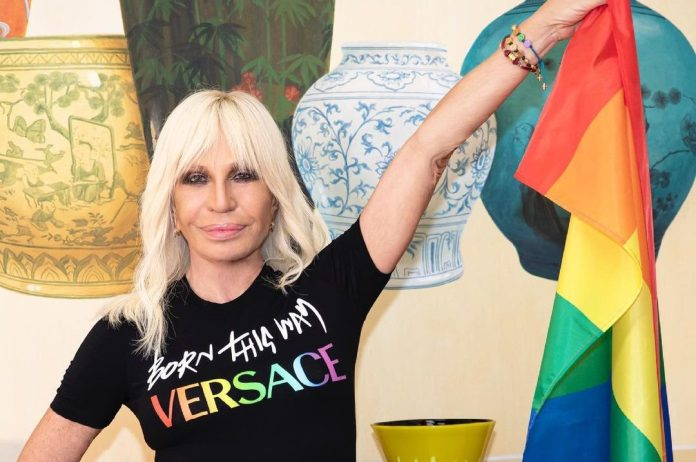 Versace Χ Lady Gaga: Μια capsule συλλογή αφιερωμένη στον μήνα Pride