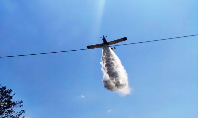 Μεγάλη κινητοποίηση της Πυροσβεστικής για δύο φωτιές