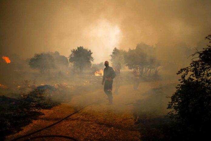 Θρίλερ με κρανίο που βρέθηκε μετά τη φωτιά στα Βίλια