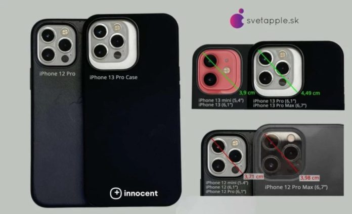 IPhone 13 Pro: Θήκη παρουσιάζει μεγαλύτερο Camera Module και συνολικό πάχος συσκευής