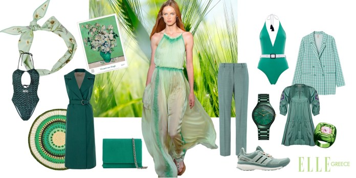 Kiss The Green! Το πράσινο είναι το χρώμα που θα τονίσει την χρυσό-χάλκινη επιδερμίδα σου (11 items)
