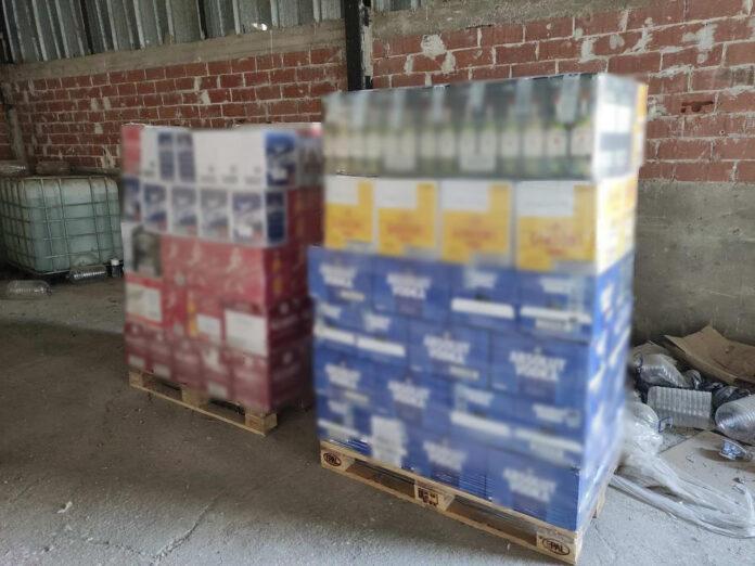 Εξαρθρώθηκε εγκληματική οργάνωση, η οποία διακινούσε λαθραία ποτά