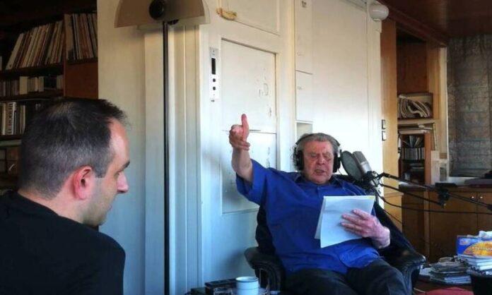 Συγκινητικό βίντεο: Η τελευταία ηχογράφηση του Μίκη Θεοδωράκη