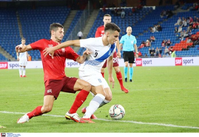 Φιλική ήττα 2 1 η Ελλάδα από την Ελβετία