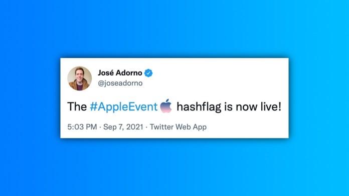 IPhone 13: Έτοιμο το Hashflag στο Twitter για το Event