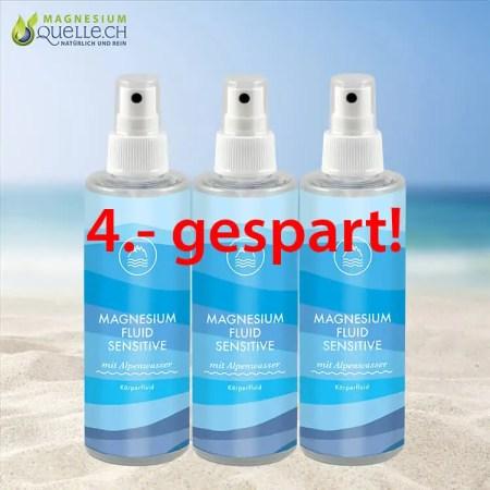 3er Set Magnesiumöl Magnesium Fluid Sensitive kaufen